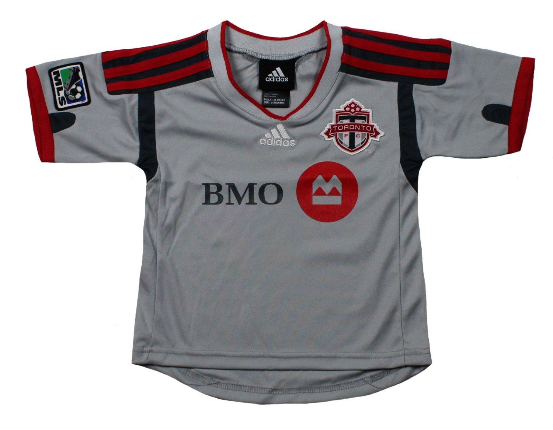Adidas Mls Soccer Infants Toronto Fc Away Replica Jersey Shirt Gray Ebay
