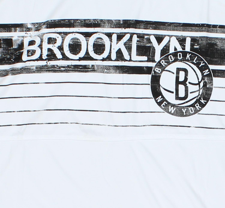 26e422a1 NBA Big Men's Brooklyn Nets Muscle Tee Shirt, White | eBay