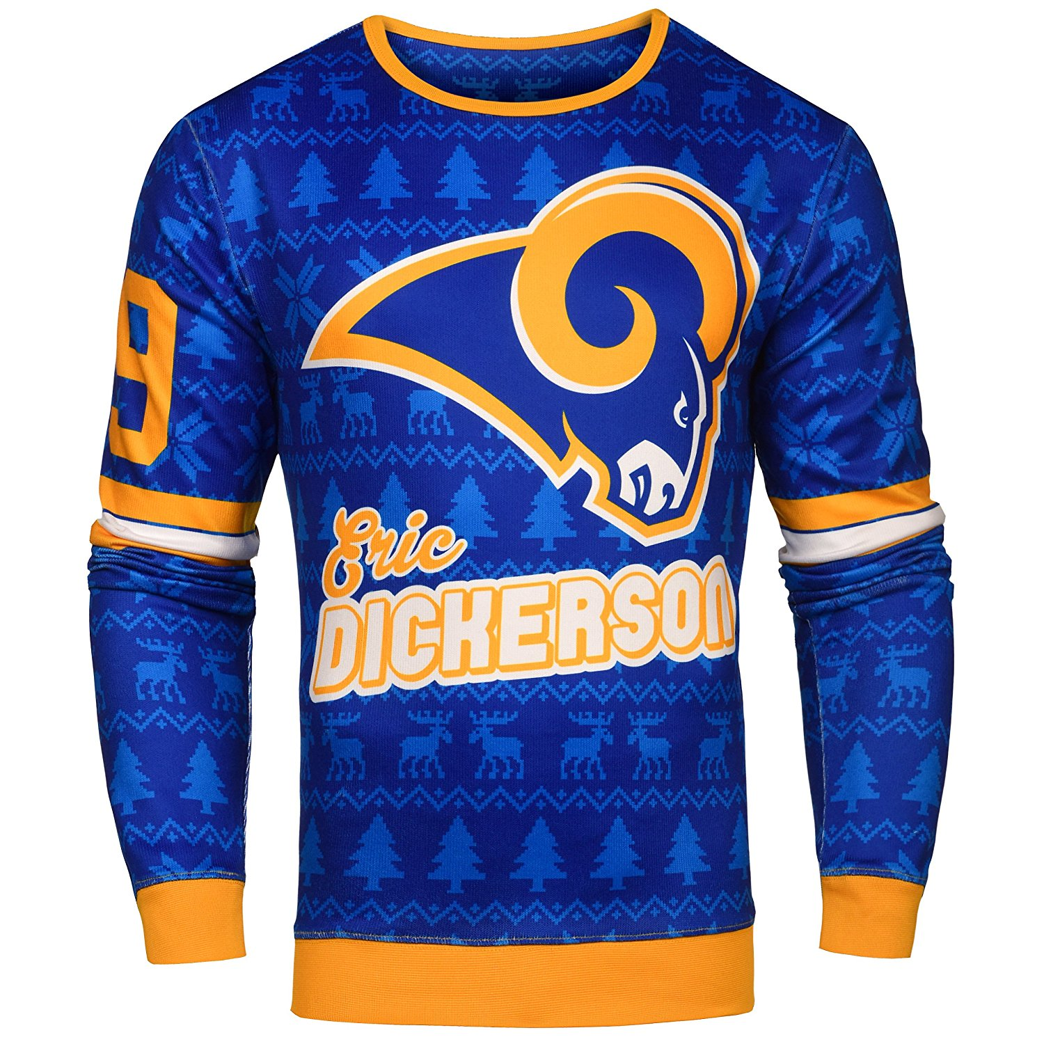 4c2291b1 Details about NFL Men's Los Angeles Rams Eric Dickerson #29 Retired Player  Ugly Sweater