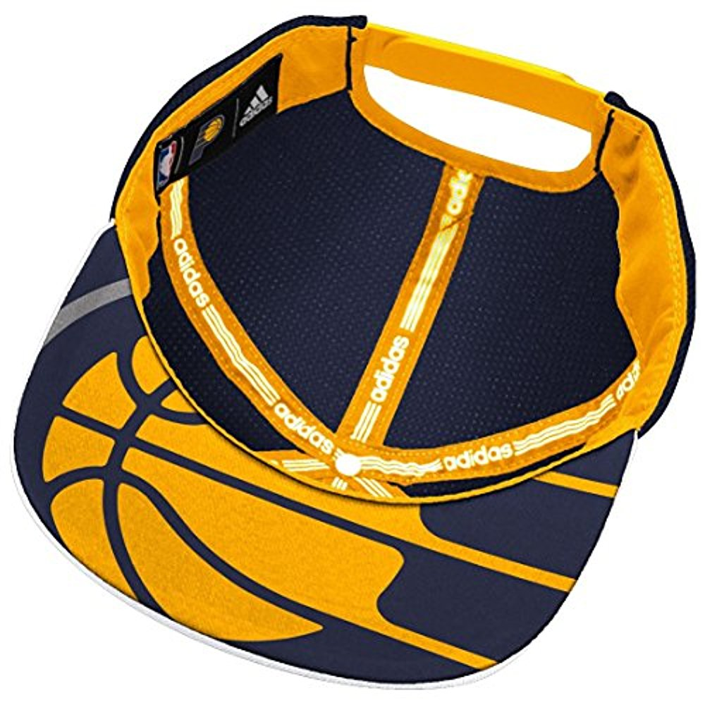 online retailer 12126 3894d Adidas NBA Men s Indiana Pacers 2015 Draft Day Authentic Snap Back Hat