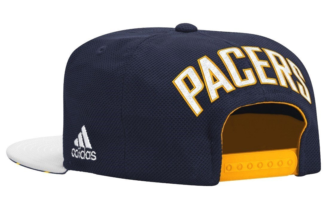 online retailer b8448 f2d5b Adidas NBA Men s Indiana Pacers 2015 Draft Day Authentic Snap Back Hat