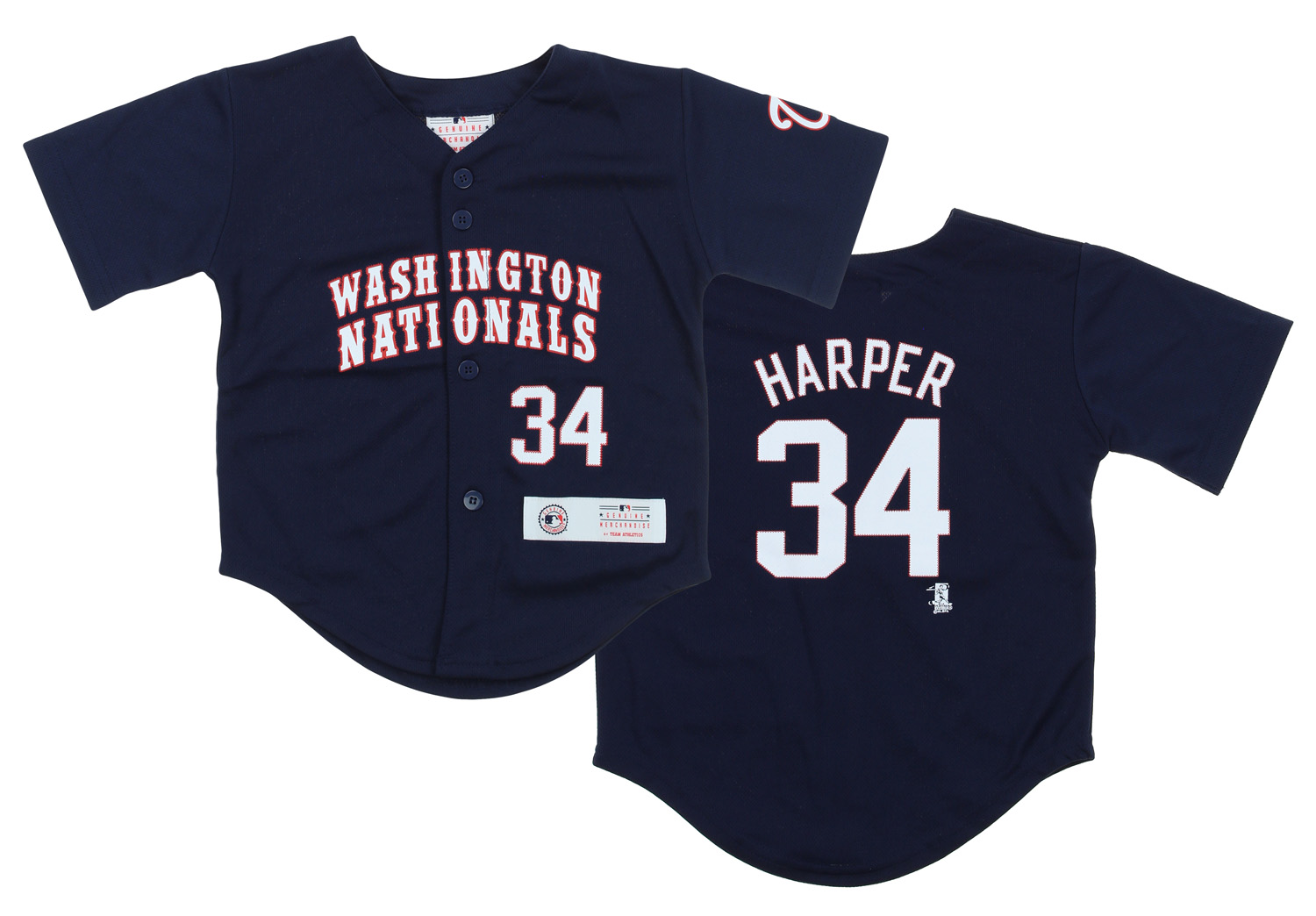 new product 8f260 4a2c4 Details about Outerstuff MLB Toddler Washington Nationals Bryce Harper #34  Replica Jersey