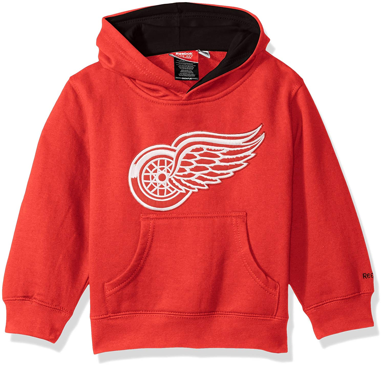 reebok NHL Kids Detroit Red Wings Prime Basic Pullover Hoodie 768ced68a