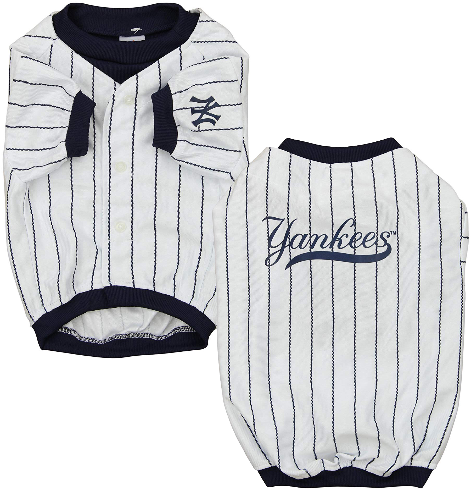 e7dfeeafc5e23 Sporty K9 MLB New York Yankees Baseball Dog Jersey