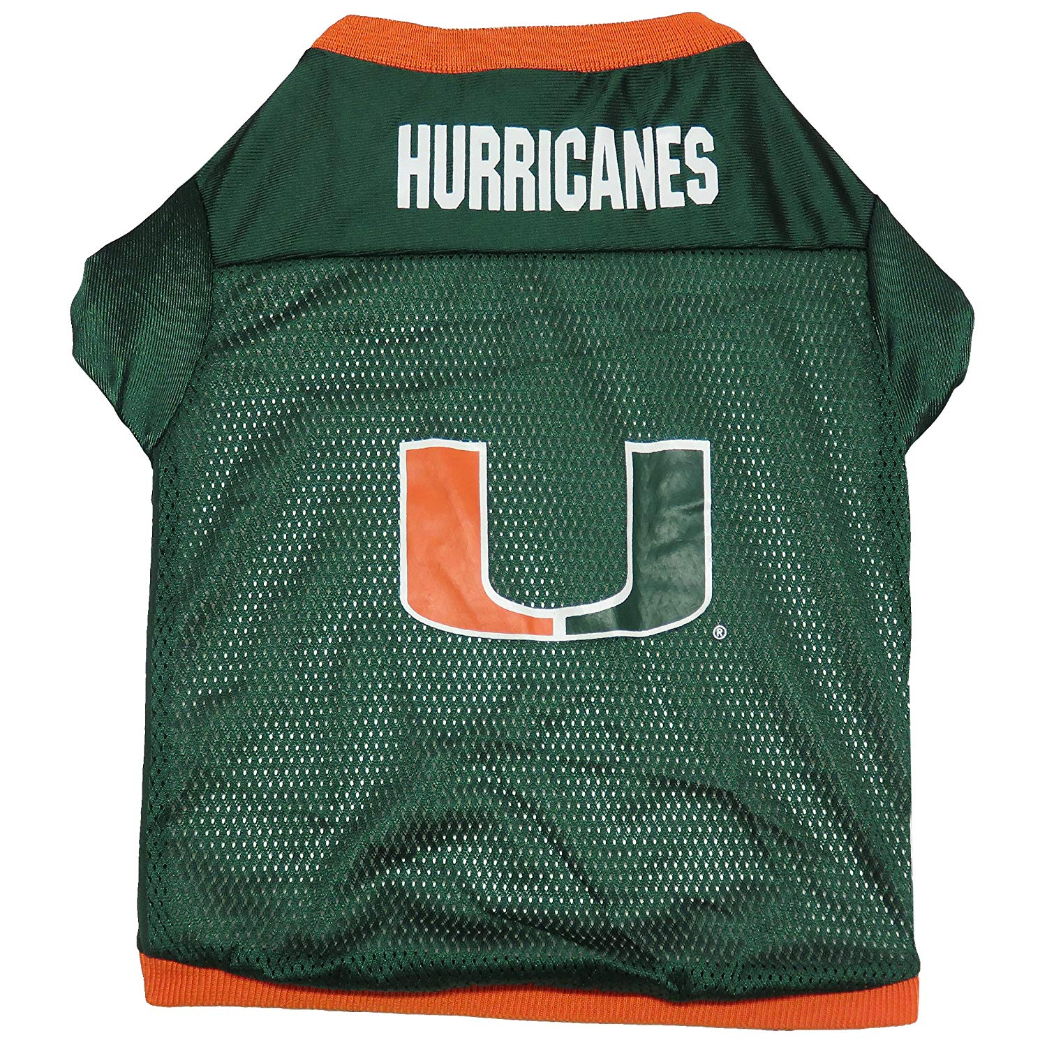 release date: 6b175 91024 Details about Sporty K-9 NCAA Miami Hurricanes Football Dog Jersey