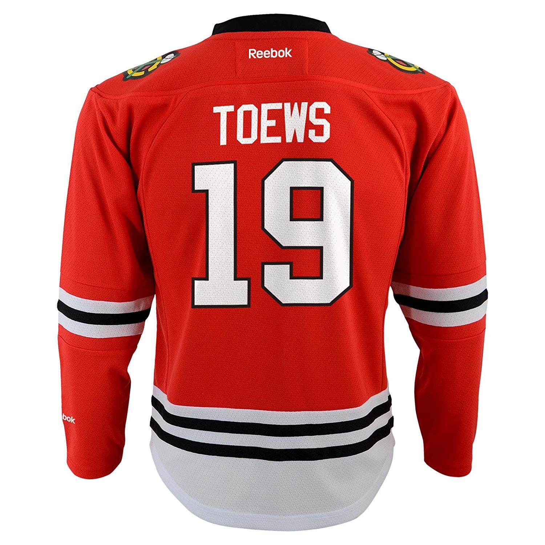 Reebok NHL Infant Chicago Blackhawks Jonathan Toews  19 Replica Jersey ce99dd59c