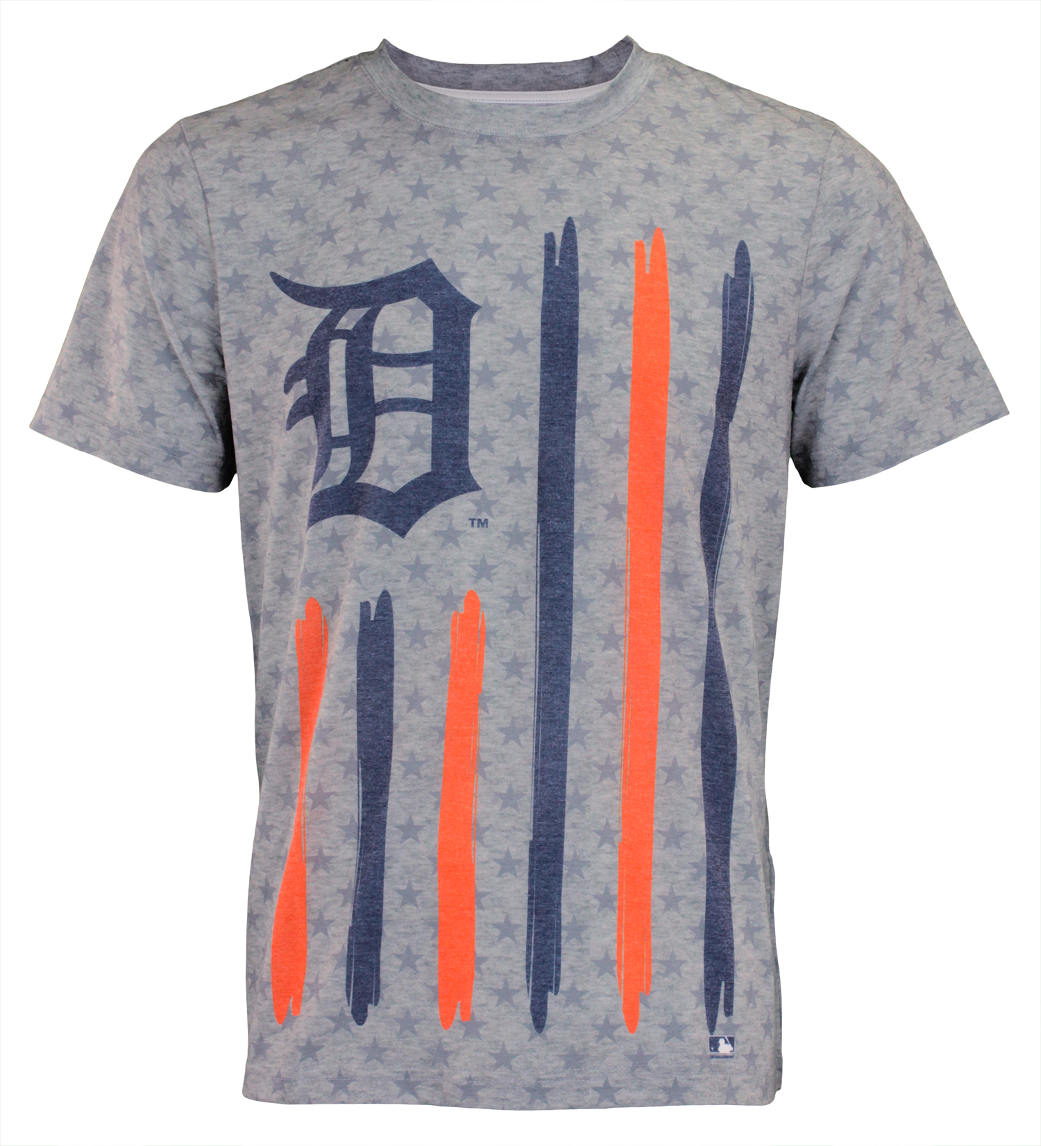 new arrival 10bdf f75ad Forever Collectibles MLB Men s Detroit Tigers Big Logo Flag Tee
