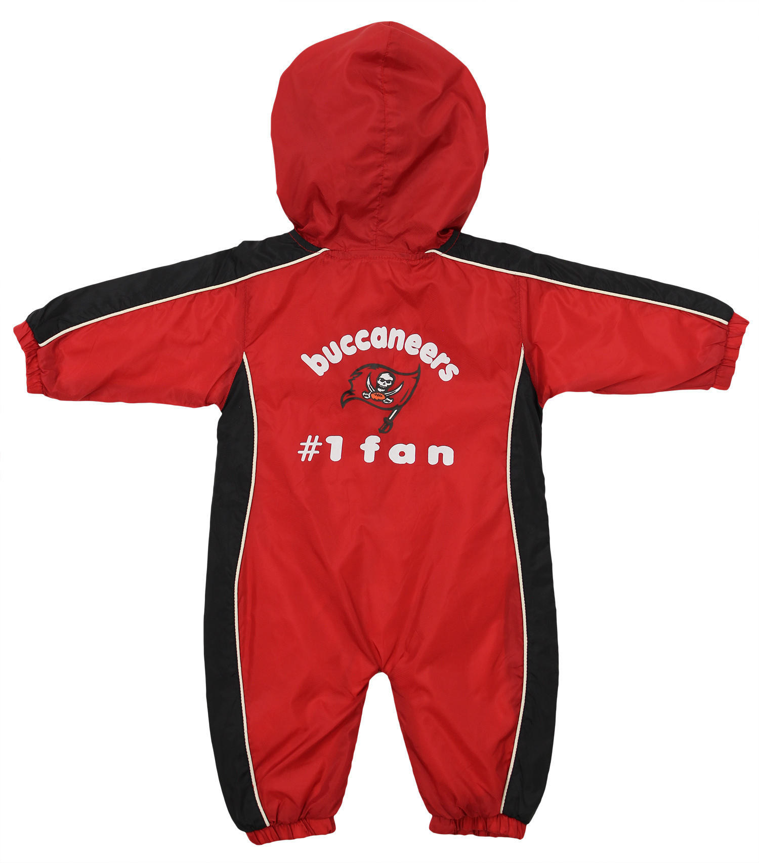 317ed769 Details about Tampa Bay Buccaneers NFL Baby Boys Newborn Infant Hooded Wind  Coveralls, Red