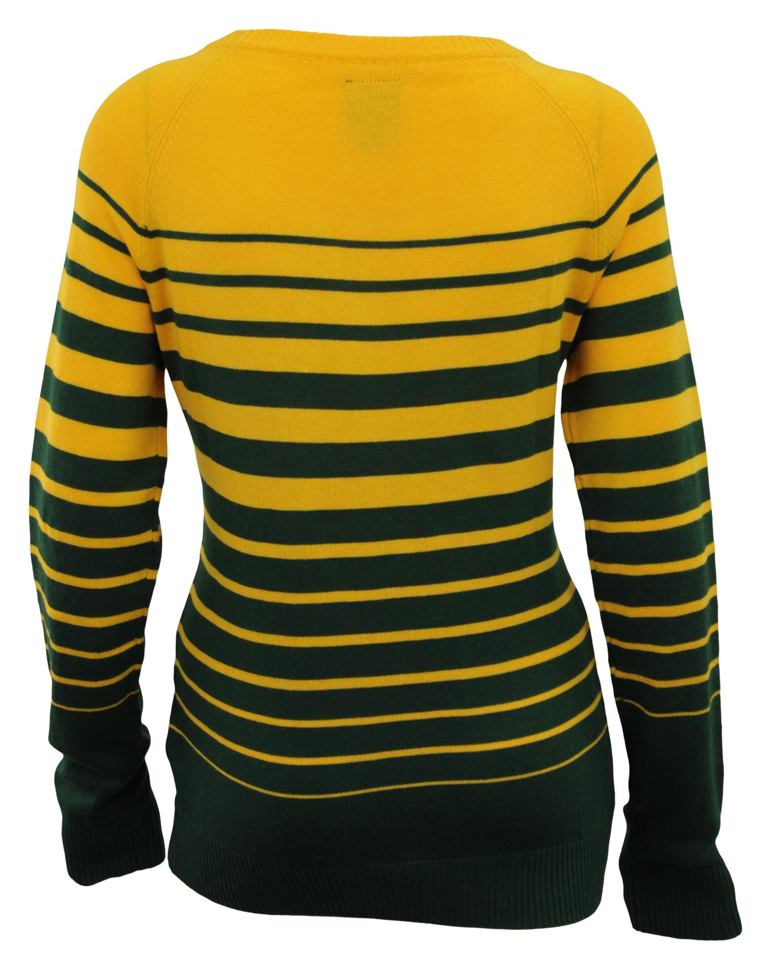 69370274 Details about Forever Collectibles NFL Women's Green Bay Packers Stripes  Scoop Neck Sweater