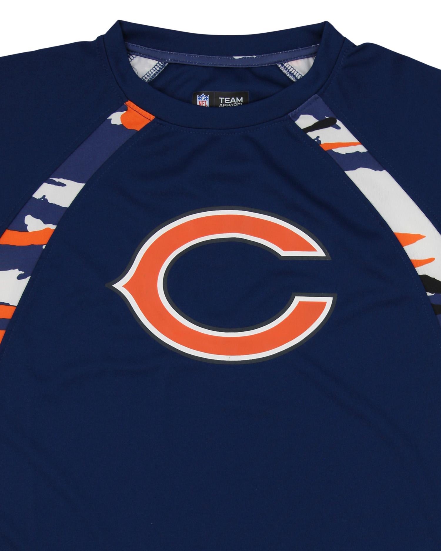 7576764f0cd Zubaz NFL Men's Chicago Bears Camo Solid T-Shirt   eBay
