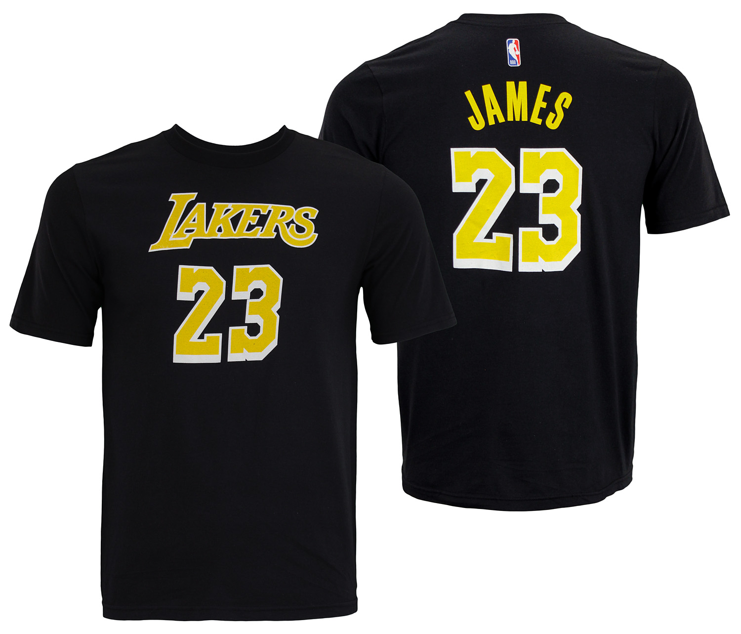 sports shoes 09c25 6cd1d Details about NBA Youth Los Angeles Lakers Lebron James #23 Player Tee  Shirt, Black