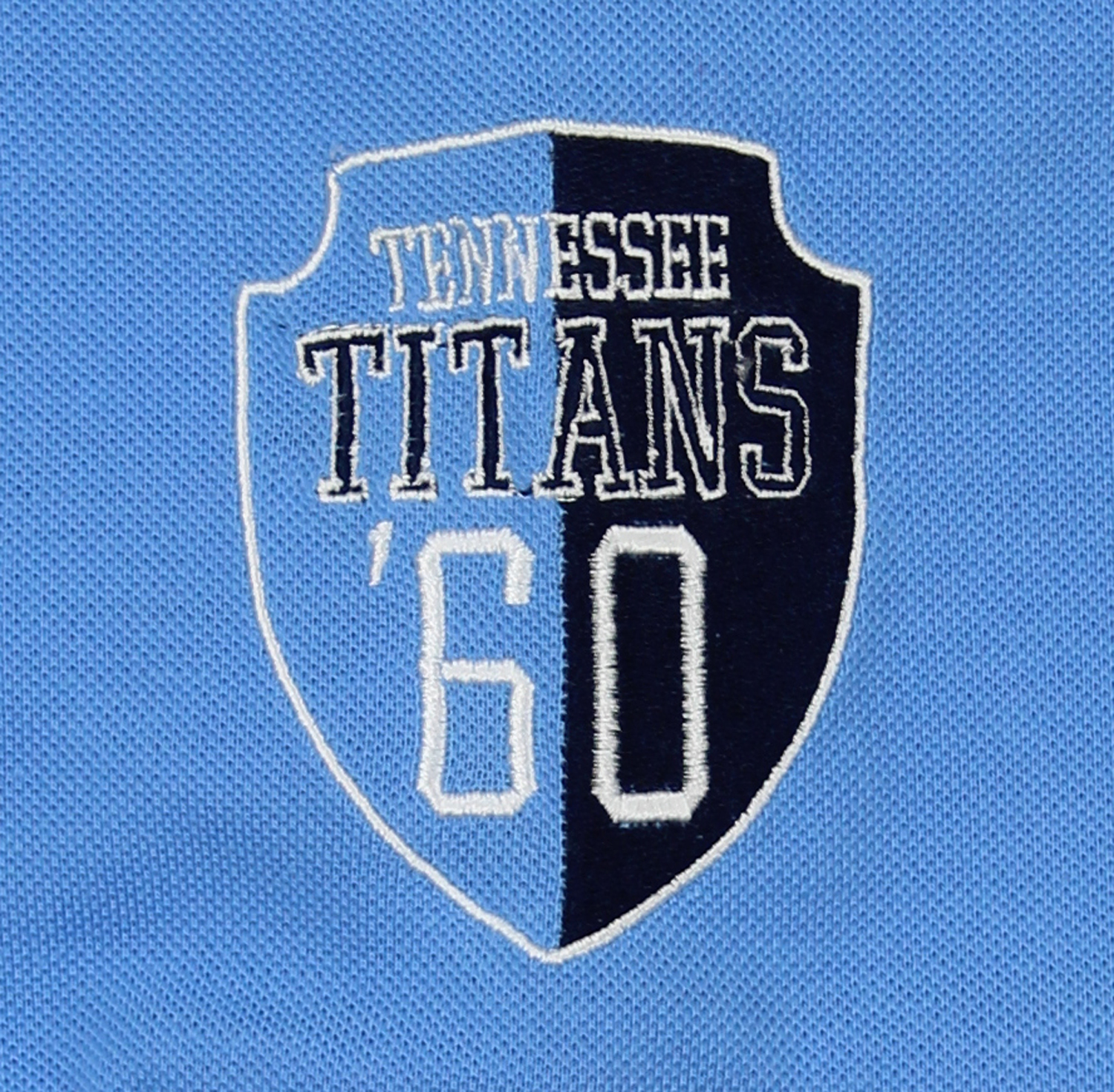 c3db95a4 Details about Klew NFL Men's Tennessee Titans Diagonal Stripe Rugby Polo