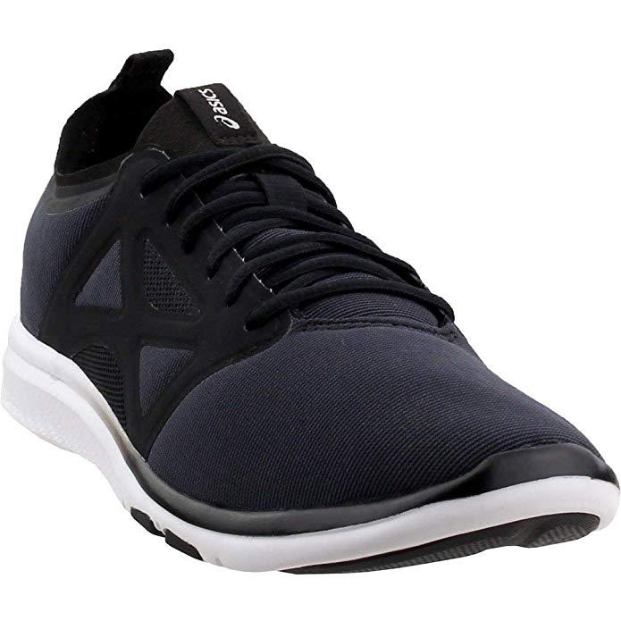 ASICS Women's Gel-Fit YUI 2 Training Shoe, Black/Black/Silver | eBay