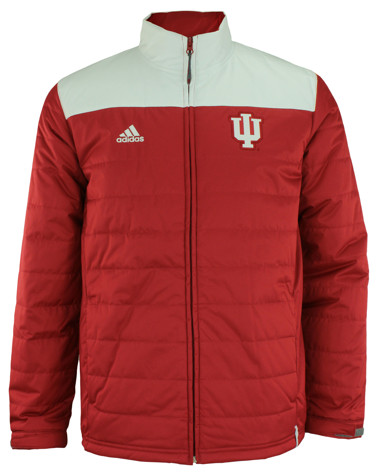 Indiana Hoosiers adidas Men/'s NCAA Climastorm Team Transition Jacket Black