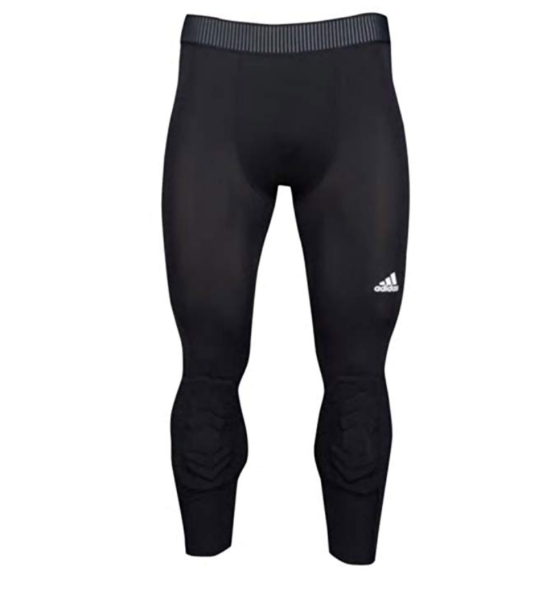 Color /& Size Options adidas Men/'s Basketball Padded Three-Quarter Tights