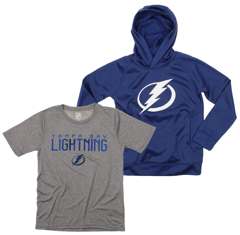 Outerstuff NHL Youth//Kids Tampa Bay Lightning Performance Fleece Sweatshirt
