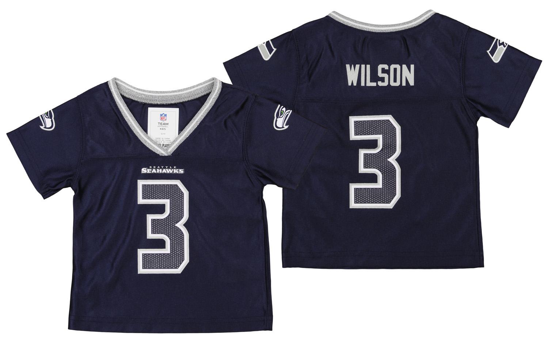 girls russell wilson jersey