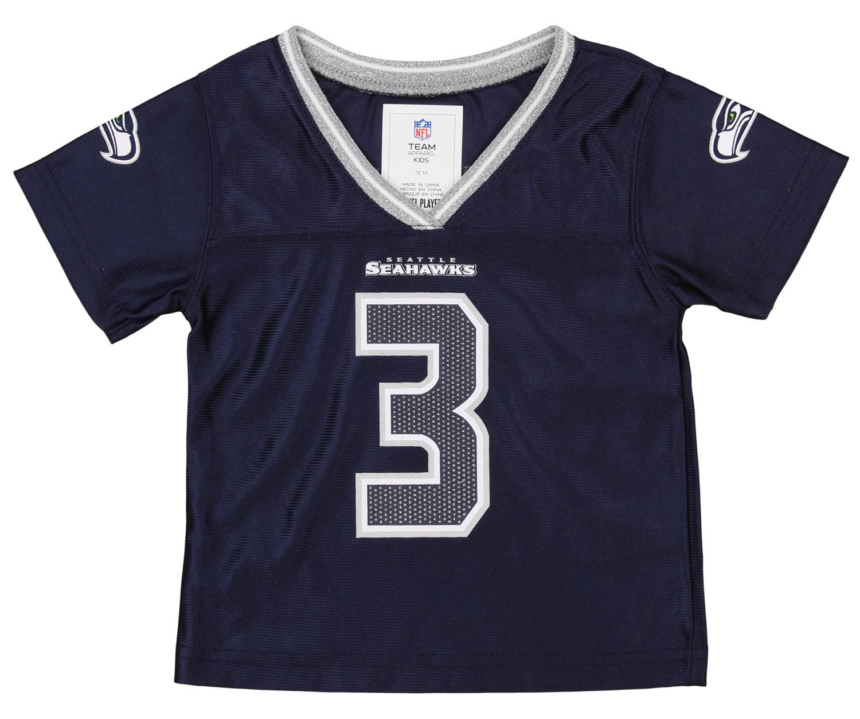Outerstuff NFL Infant Girls Seattle Seahawks Russell Wilson #3 ...
